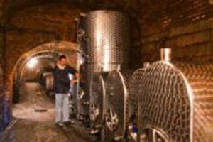 Weinkeller mit Nirosta Tanks